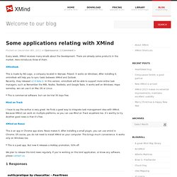 Some applications relating with XMind