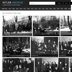 Hitler Archive - Adolf Hitler Biography in Pictures