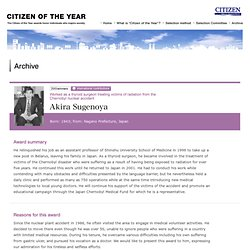 Archive | CITIZEN OF THE YEAR