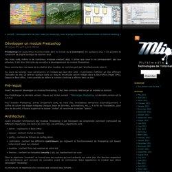 Blog MTI » Archive du blog Développer un module Prestashop