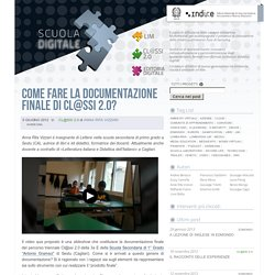 INDIRE: Come fare la documentazione finale di Cl@ssi 2.0?
