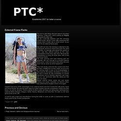 PTC* » External Frame Packs