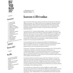» Blog Archive » Graphisme d'utilité publique