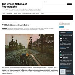 ARCHIVE: Interview with John Bulmer