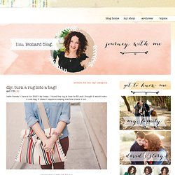 DIY Archive - Lisa Leonard Designs Blog