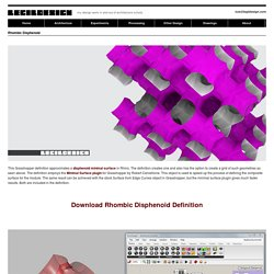 LEGil Design » Archive » Rhombic Disphenoid