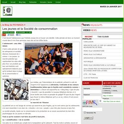 PSY-JEUNES / ADOS » Blog Archive » Les jeunes et la Société de consommation