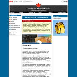 Library & Archives Canada