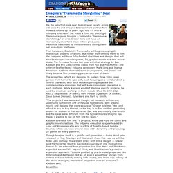 "Blog ArchiveImagine's ""Transmedia Storytelling"" Deal"