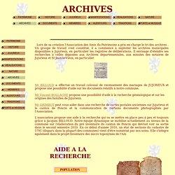 ARCHIVES de JUJURIEUX (Ain)