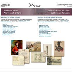 AO- Ontario History Quest - An Online Learning Resources