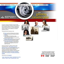 Archives Canada