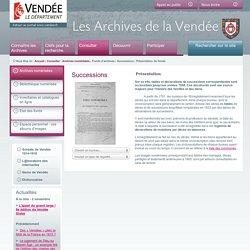 Archives départementales de la Vendée
