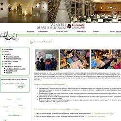 Archives départementales de la Gironde
