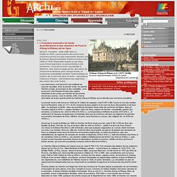 Archives départementales d'Indre et Loire