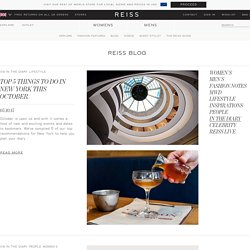 IN THE DIARY Archives - Explore Reiss, Fashion Features, Blog and Video