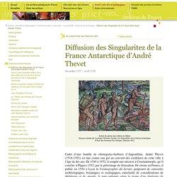 Archives de France : André Thévet