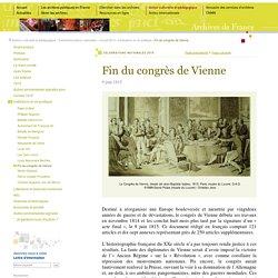 1815 - le congrès de Vienne [ressource]