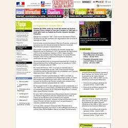 Archives - Jacques Chirac - Portail du Gouvernement - site du Premier ministre