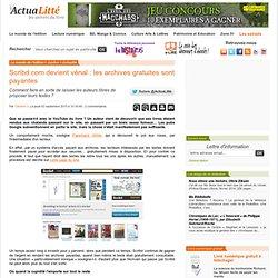 Scribd.com devient vénal : les archives gratuites sont payantes ActuaLitté