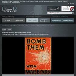 Les archives de l'Historial de la Grande Guerre de Péronne