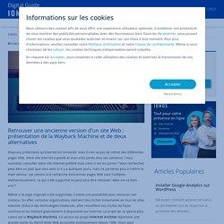 Archives de site Internet: les trouver et les télécharger - IONOS