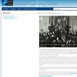 Archives de l'OTAN en ligne