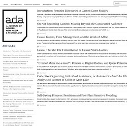 issue no. 2 : Ada: A Journal of Gender, New Media, and Technology