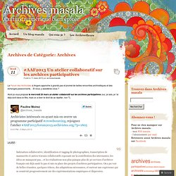 Archives « Archives masala