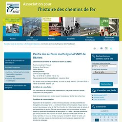 archives de la SNCF