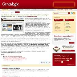 Les Archives nationales italiennes mettent 100 millions d'actes en ligne
