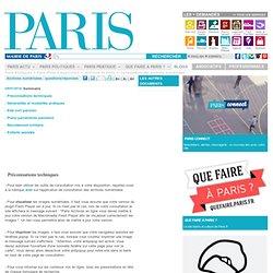 Paris - Archives numérisées : questions/réponses