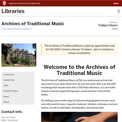 Archives of Traditional Music