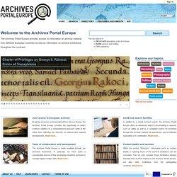 Portail européen des archives-Mozilla Firefox