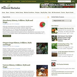 Magical Herbs Archives - The Practical Herbalist