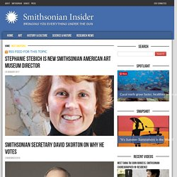 Meet Our People Archives - Smithsonian Insider | Smithsonian Insider