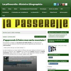 carte mentale Archives - La p@sserelle -Histoire Géographie-