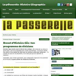 3ème Archives - La p@sserelle -Histoire Géographie-