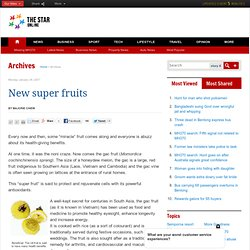 New super fruits