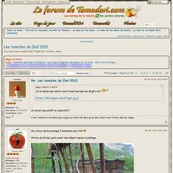 Les tomates de Zed 2012 : Le Suivi de vos Semis 2012 [Archives] - Page 8 - Tomodori.com... Les mordus de la tomate & des jardins naturels