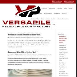 VersaPile Inc. - Helical Pile Contractors