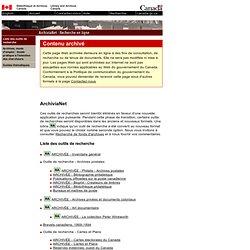 ArchiviaNet : Recherche en ligne