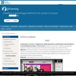 Archivio webinar - eTwinning Italia
