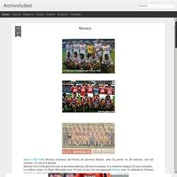 Archivofutbol: Monaco
