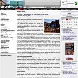 archiweb.cz - Esker house