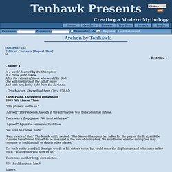 Archon by Tenhawk