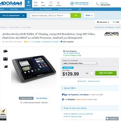 Archos 80 G9 16GB 8in Tablet 501895