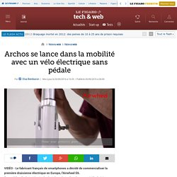Archos se lance dans la mobilité avec un vélo électrique sans pédale