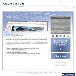 ArchVision RPC for Revit