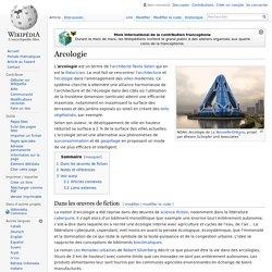Arcologie